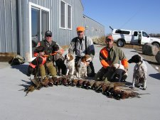 Pheasant Hunting Lodge in South Dakota
